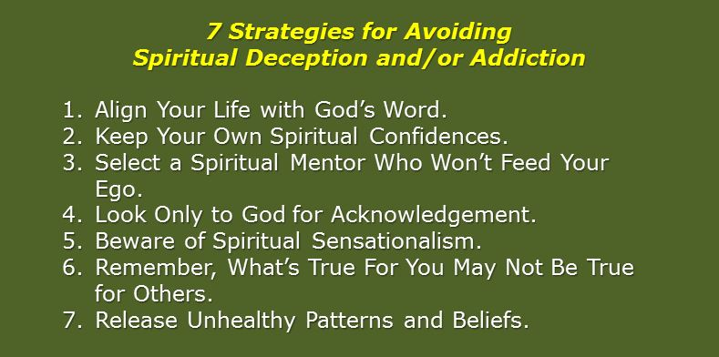7 strategies to avoid spiritual deception
