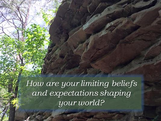 limiting beliefs shaping your world