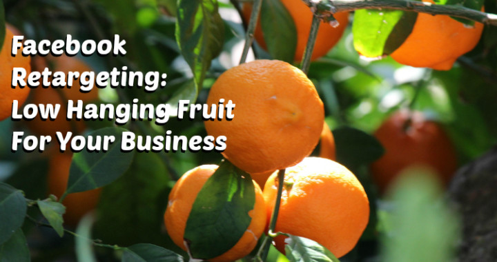 Click here to learn about Facebook retargeting - reach the low hanging fruit for your business!