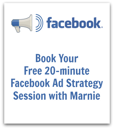 book a strategy session with Marnie