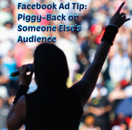 target someone else's audience on facebook