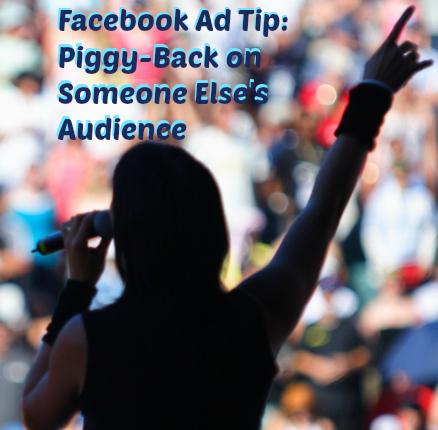 target someone else's audience on facebook
