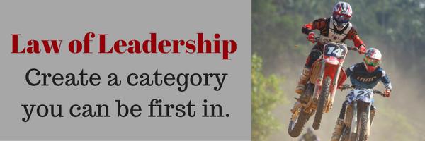 law of leadership