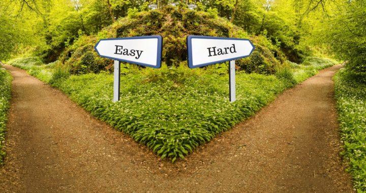 hard vs. easy